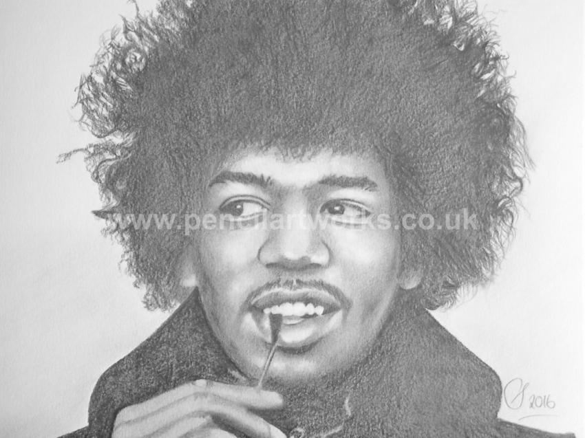 Jimi Hendrix par stevea1000